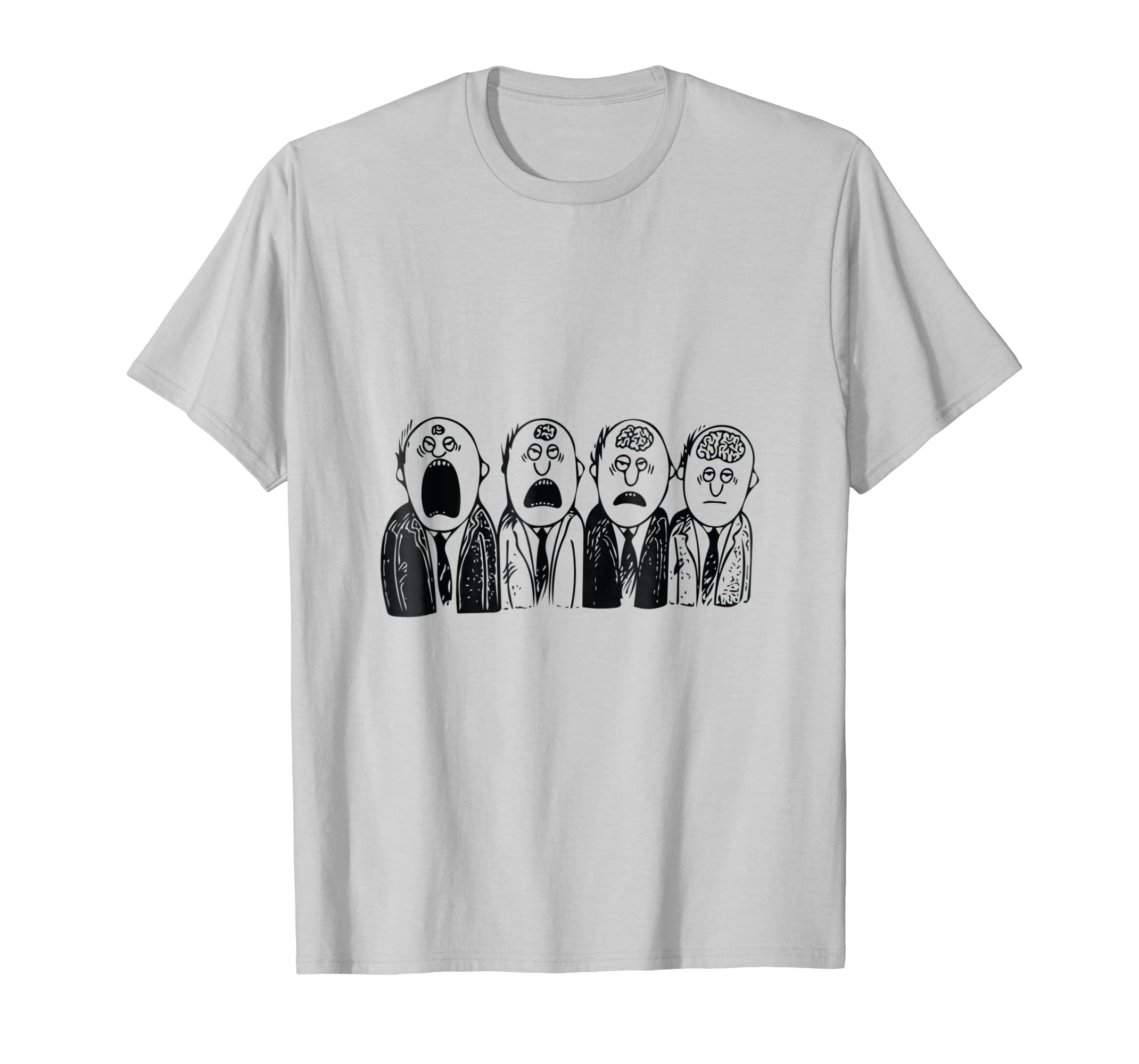 Be afraid of the quiet ones, they are thinking t shirt-azvn