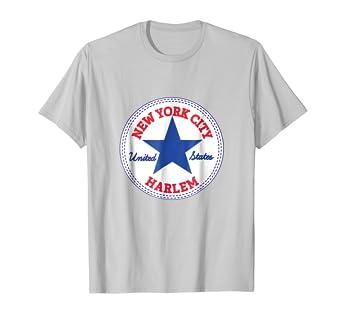 Amazon.com  New York City HARLEM T-Shirt NYC USA United States Tee ... 97c36498cdf