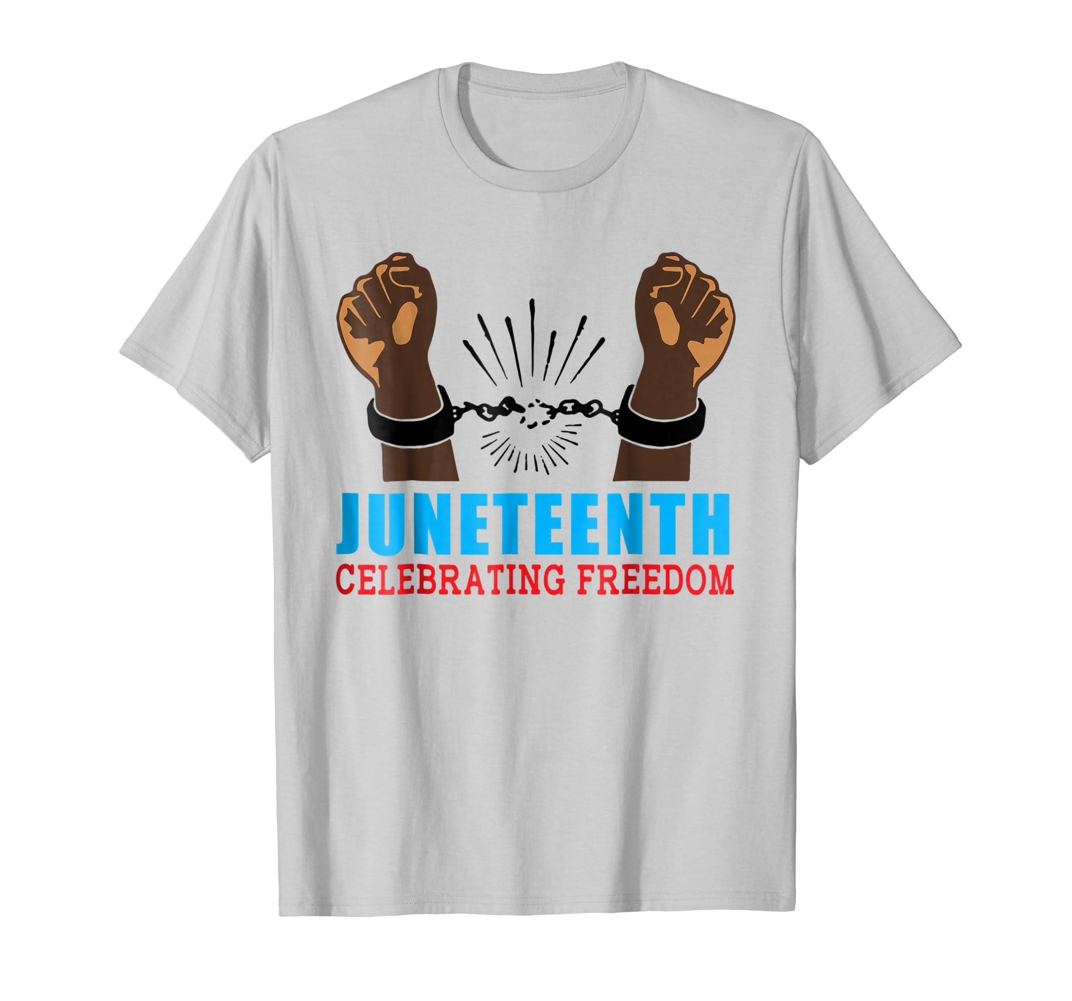 Juneteenth Celebrating Freedom Emancipation Day T Shirt-SFL