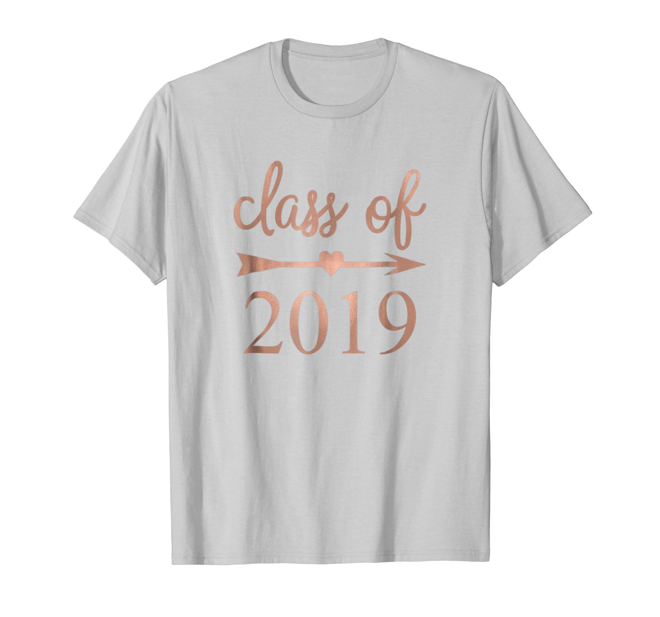 8735127f37a4 Senior Class of 2019 Heart Arrow ~ Faux Rose Gold Foil-ANZ ⋆ Anztshirt