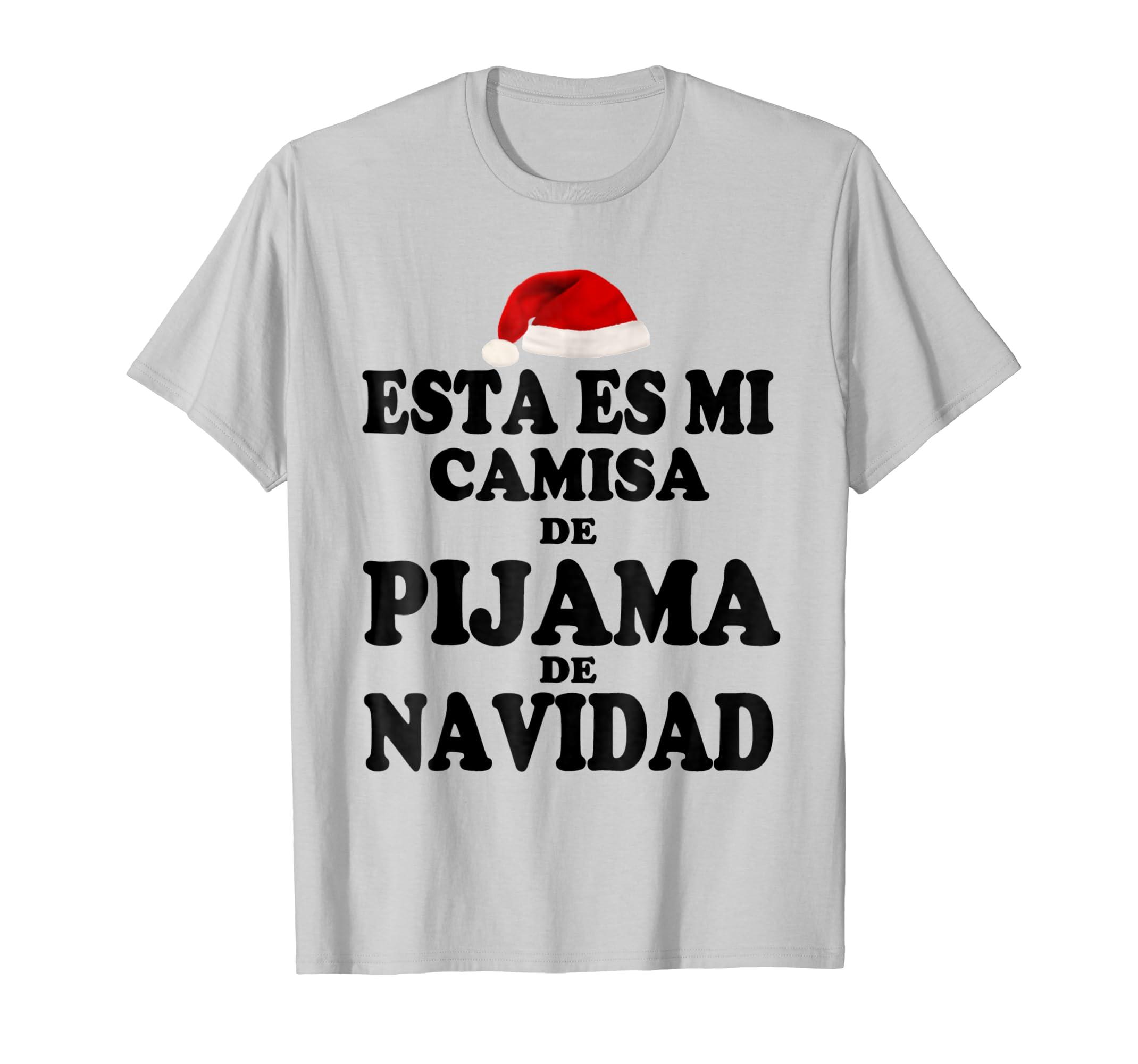 Amazon.com: Esta Es Mi Pijama De Navidad Camiseta De Navidad Xmas TShirt: Clothing