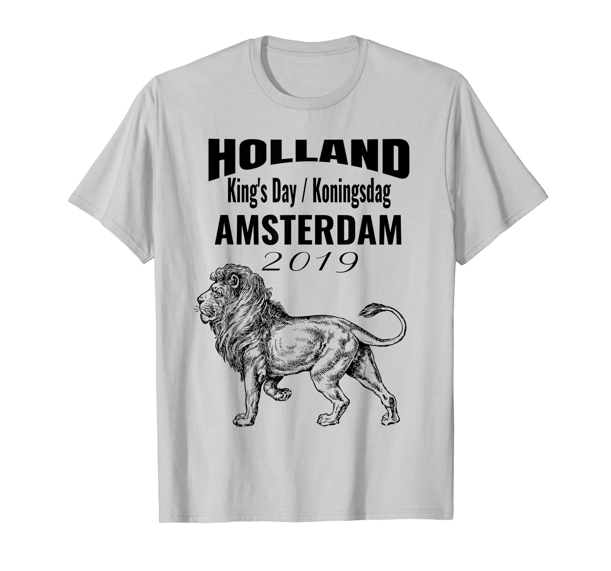 Amazon com: King's Day Dutch T-shirt Koningsdag Amsterdam