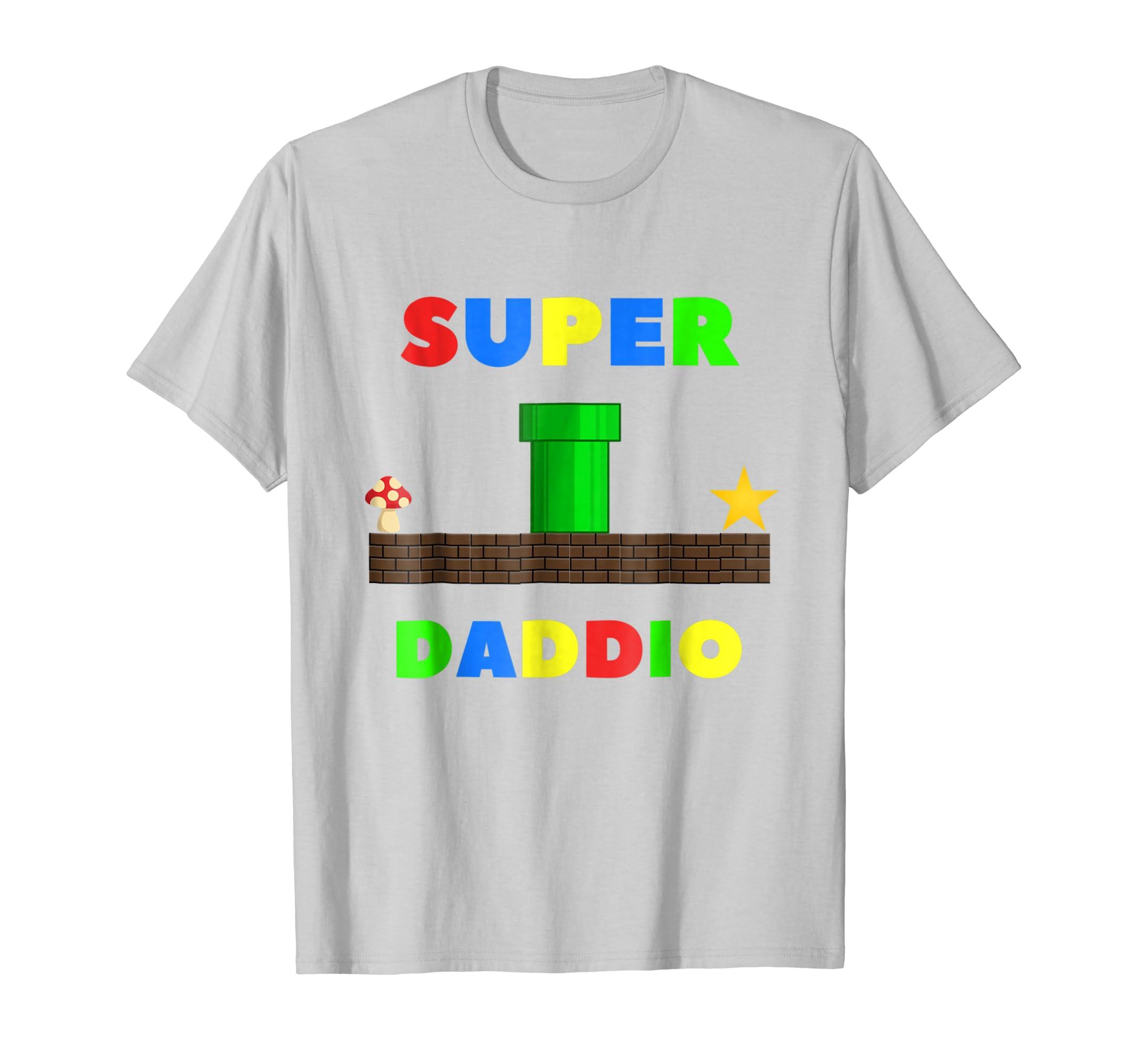 924d9095 Mens Nerdy Dad Inc. Super Daddio Funny T-Shirt – Paramatee