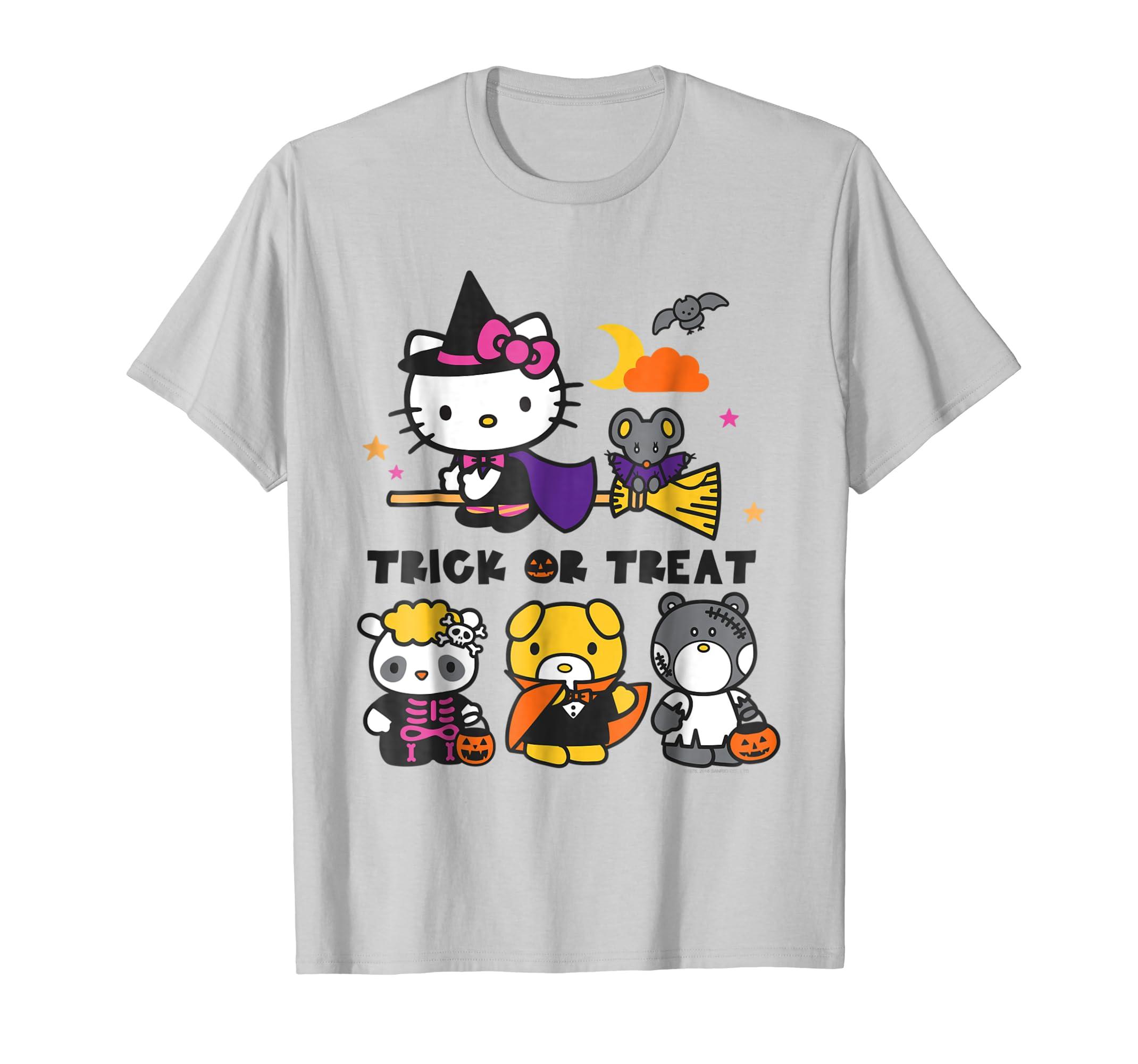 and Friends Halloween Tee Shirt-ln