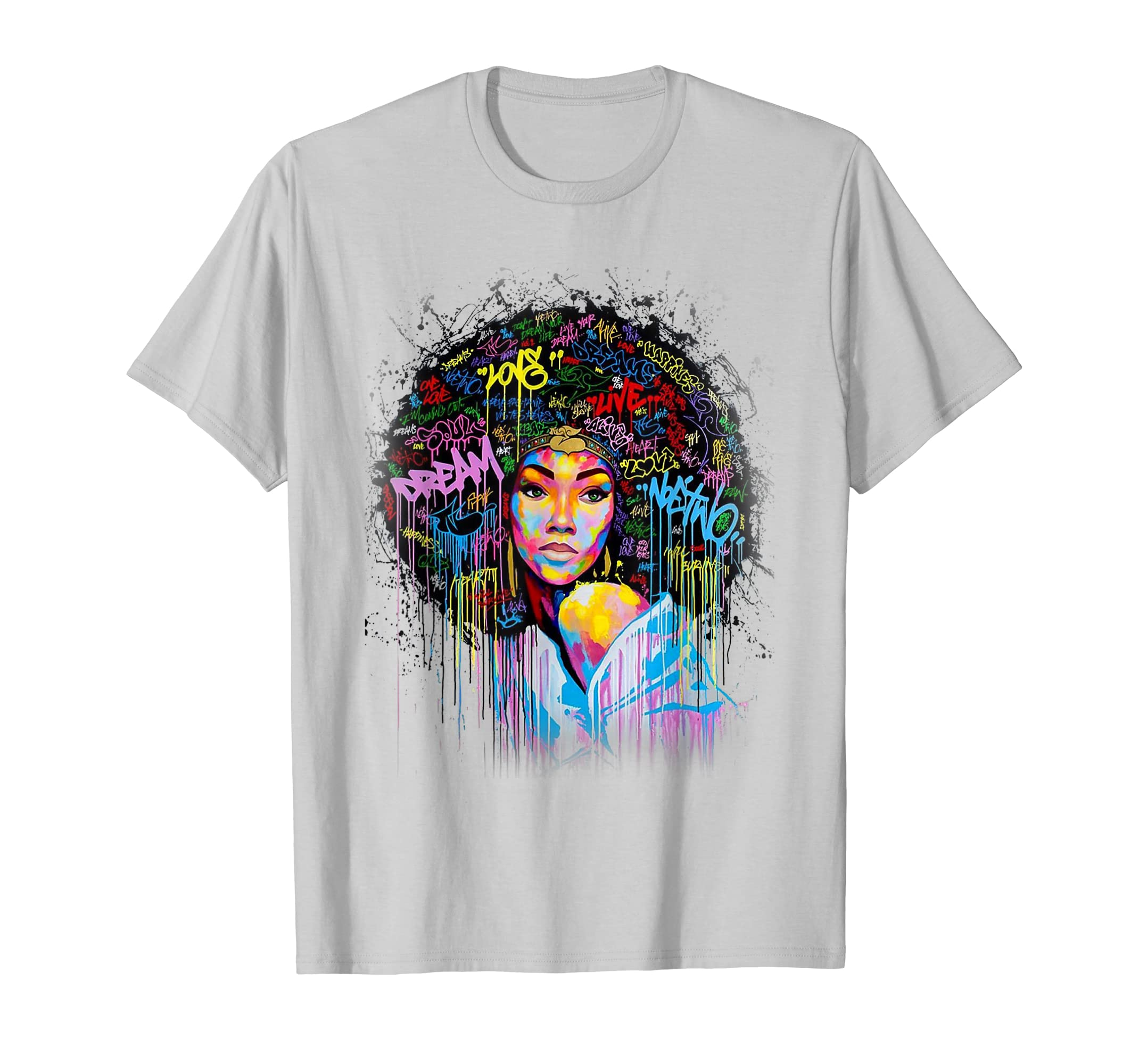 Dashiki Melanin Afro Woman For Afro Woman T Shirt-SFL