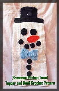 crochet kitchen towel topper pattern