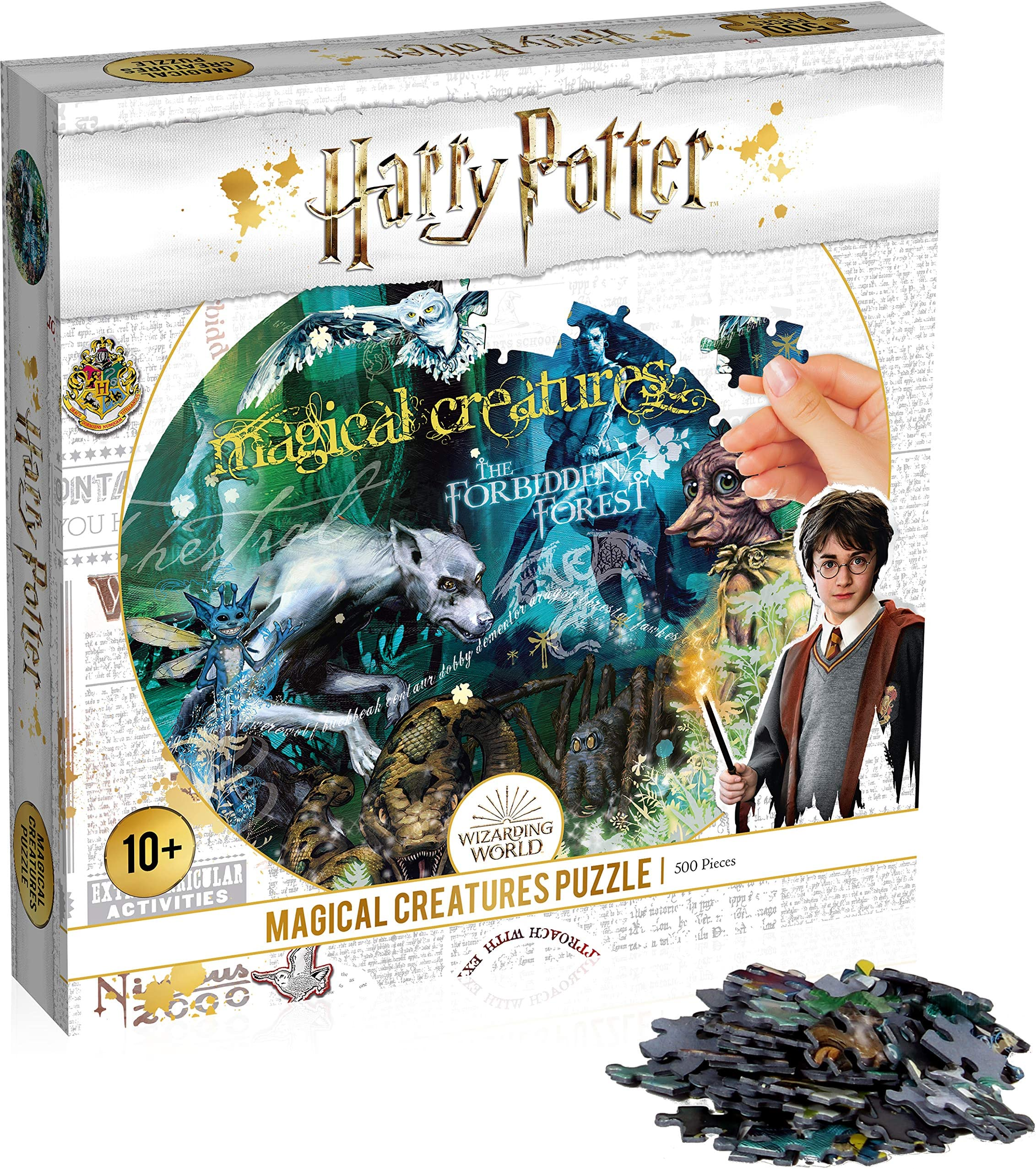 Harry Potter Magical Creatures 500 Pc Jigsaw Puzzle