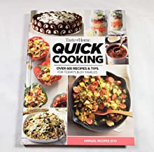 TASTE OF HOME QUICK COOKING ANNUAL RECIPES 2019
