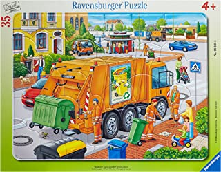 Ravensburger Waste Collection 35 Piece Frame Jigsaw Puzzle for Kids – Every Piece is Unique, Pieces Fit Together Perfectly