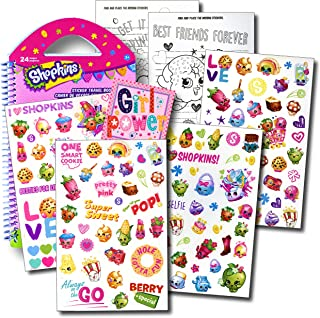 SHOPKINS Stickers Travel Activity Set with Stickers, Activities, and Large Specialty Sticker