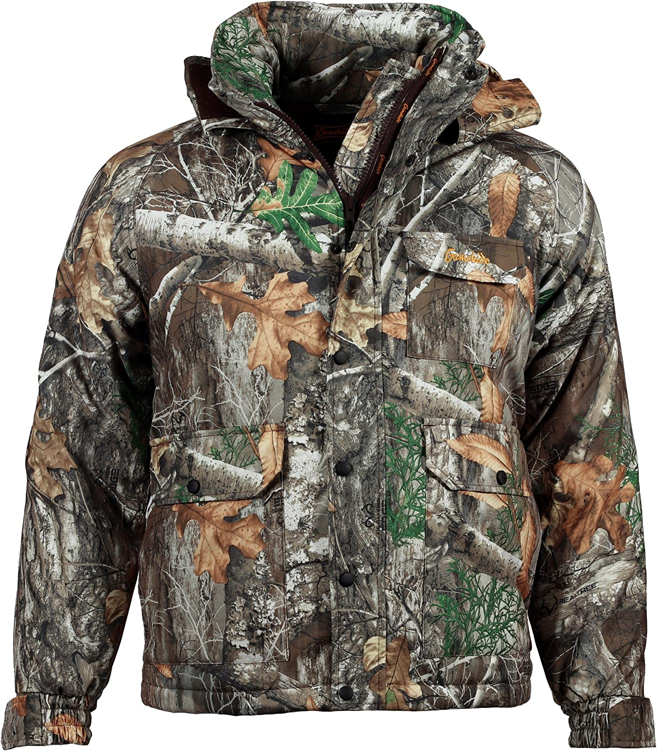 ZDLilian Autumn and Winter Camouflage Jacket Mens Sports and Leisure Outdoor Tourism Hiking Jacket