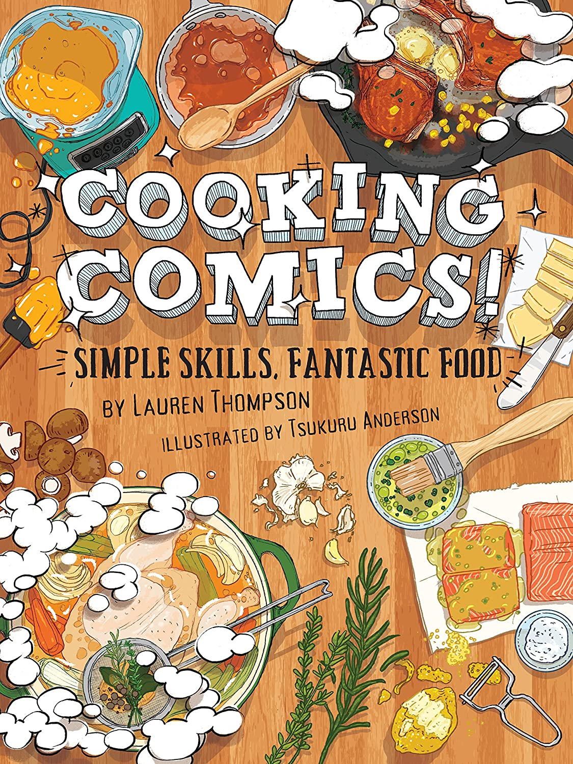 Cooking Comics! (English Edition)