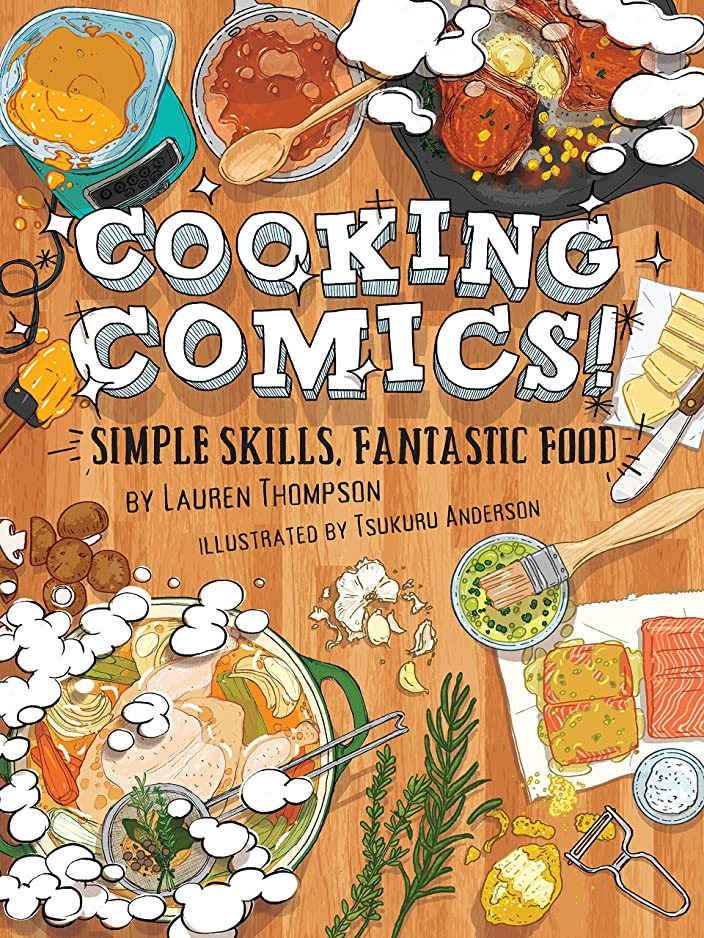 フィドル独立した隣接Cooking Comics! (English Edition)