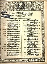 L. Van Beethoven Sonatas for the Piano - Revised and Fingered - Op. 27, No. 2 - Sonata Quasi Una Fantasia (Moonlight)