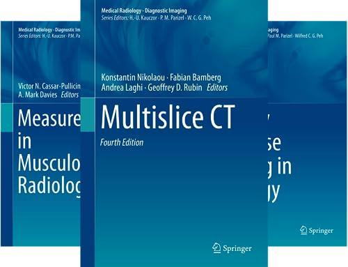 Diagnostic Imaging (51-58) (8 Book Series)