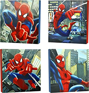 Marvel Spider-Man Canvas Wall Art (4-Piece)