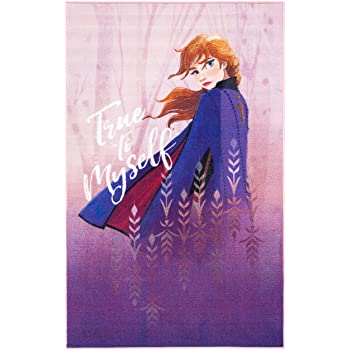 """Safavieh Collection Inspired by Disney's Frozen II - Truth Rug (3' 3"""" x 5' 3"""")"""