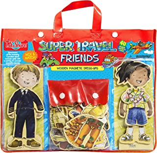 T.S. Shure Super Travel Friends Dress-Up Doll