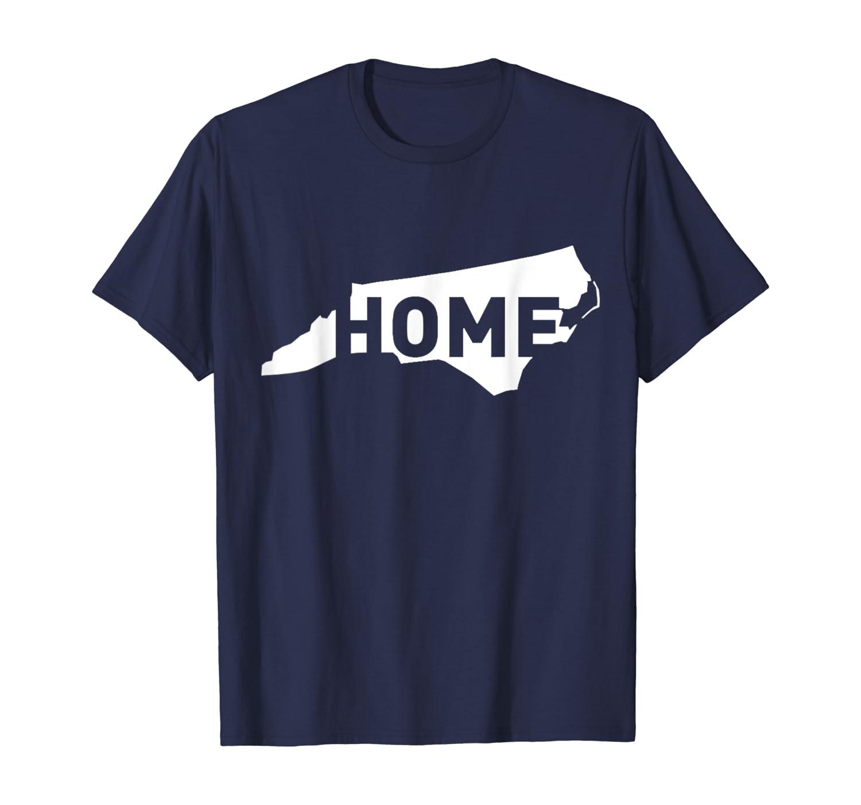 North Carolina Home State T shirt I Love NC My Home