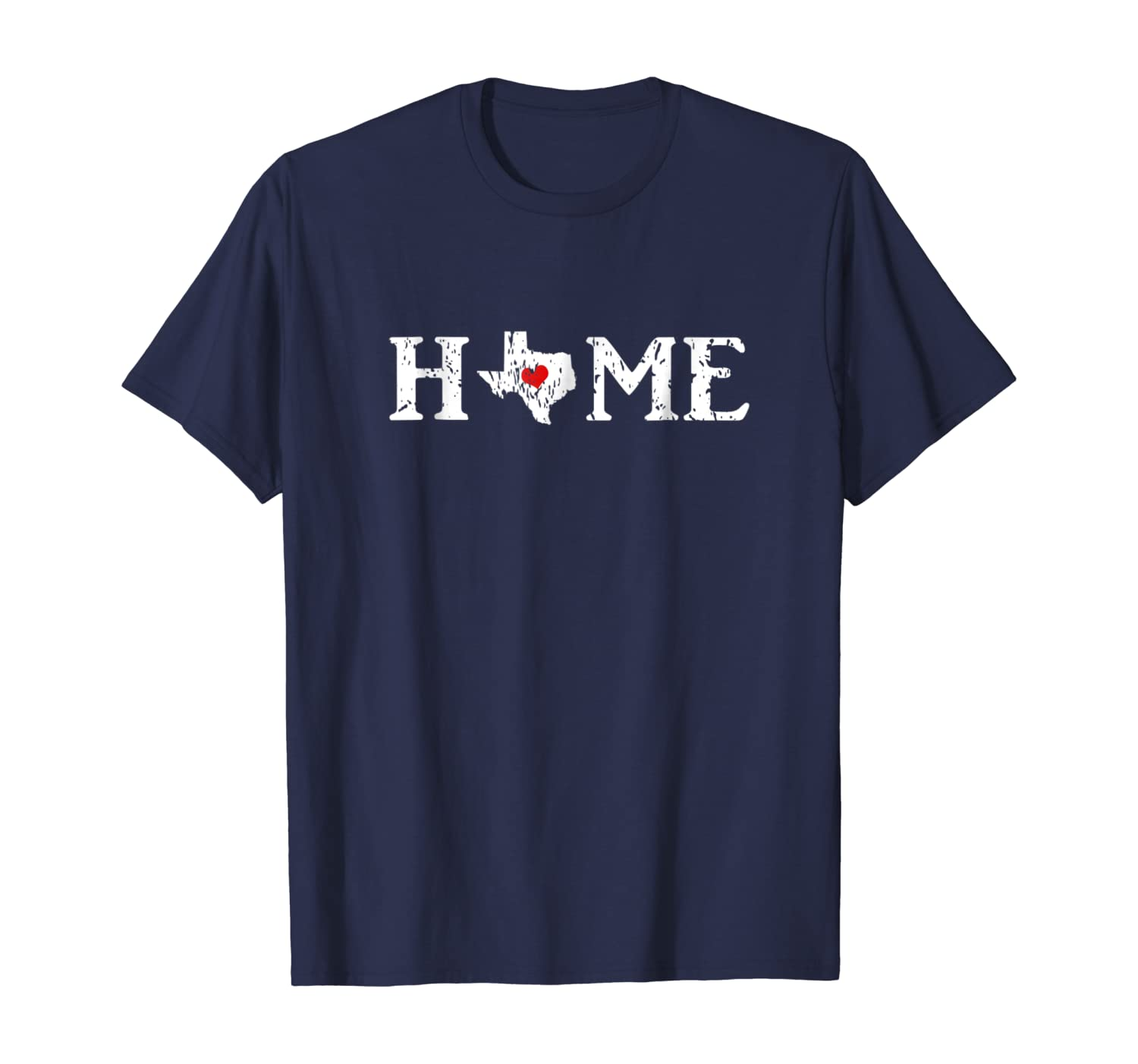 Texas is My Home T-shirt for Men and Women