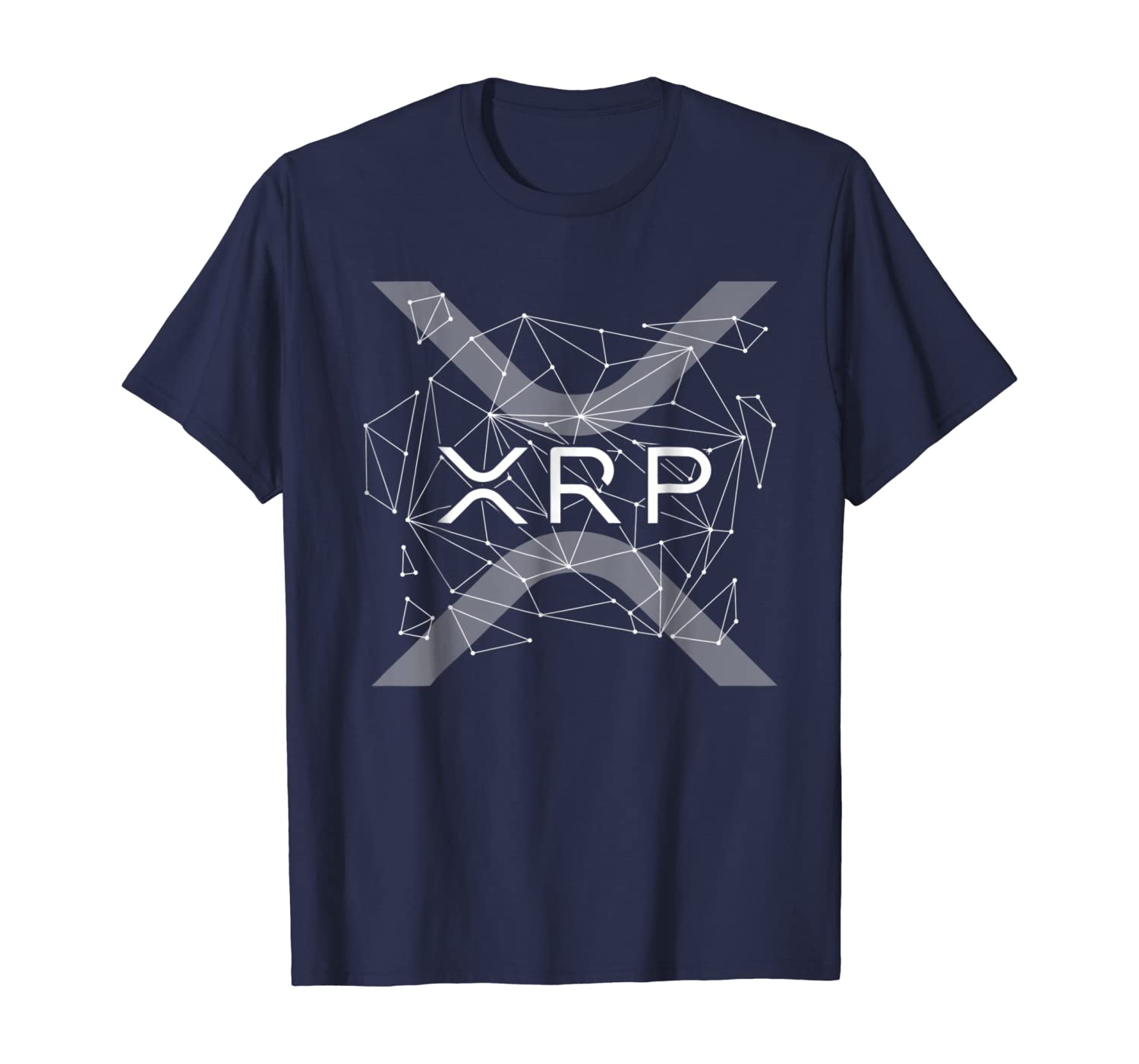 amazon com ripple xrp logo new ripple logo cryptocurrency t shirt clothing amazon com ripple xrp logo new ripple