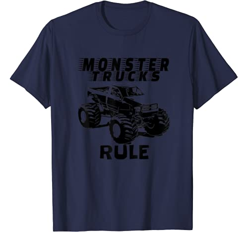 "The # 1 Best ""Monster Trucks Rule"" T Shirts On The Planet. T Shirt"