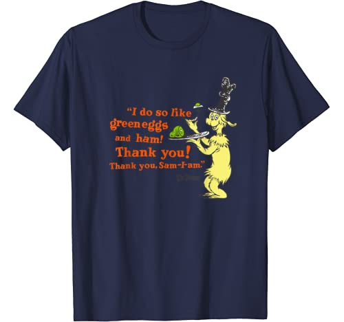 "Dr. Seuss Green Eggs And Ham ""I Do So Like"" Quote T Shirt"