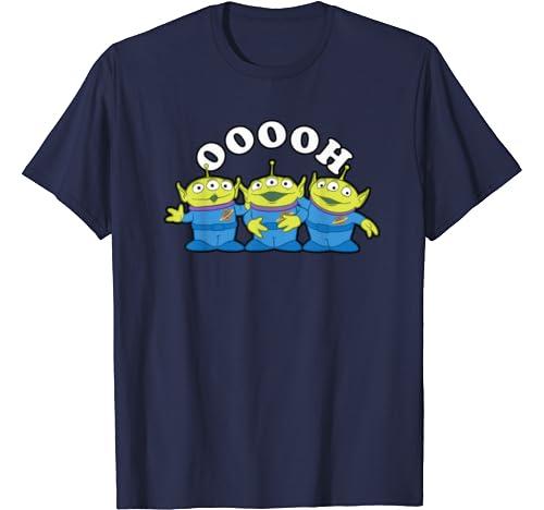 Disney Pixar Toy Story Aliens Ooooh Portrait T Shirt