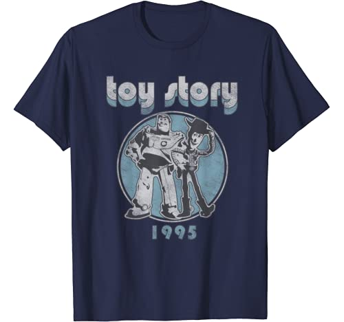 Disney Pixar Toy Story Buzz & Woody Retro T Shirt