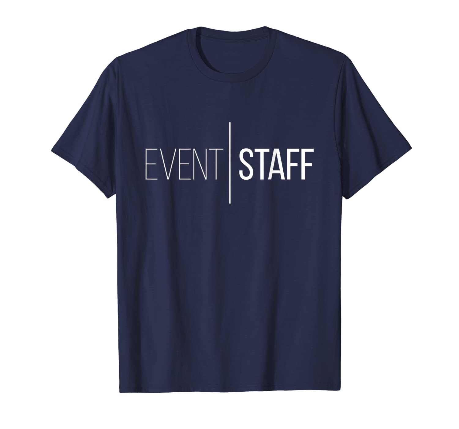 Amazon.com: Event staff shirt Front design cool party crew ...