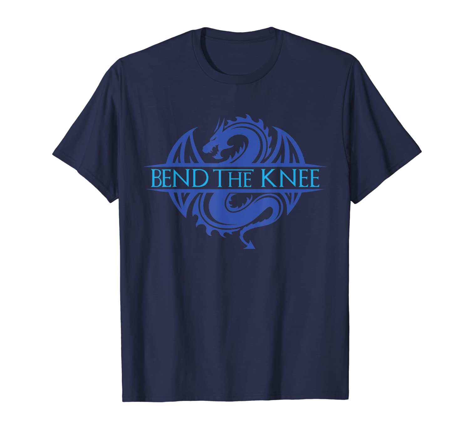 Bend The Knee Dragon Ice King or Queen Cosplay Tee T-Shirt-TH