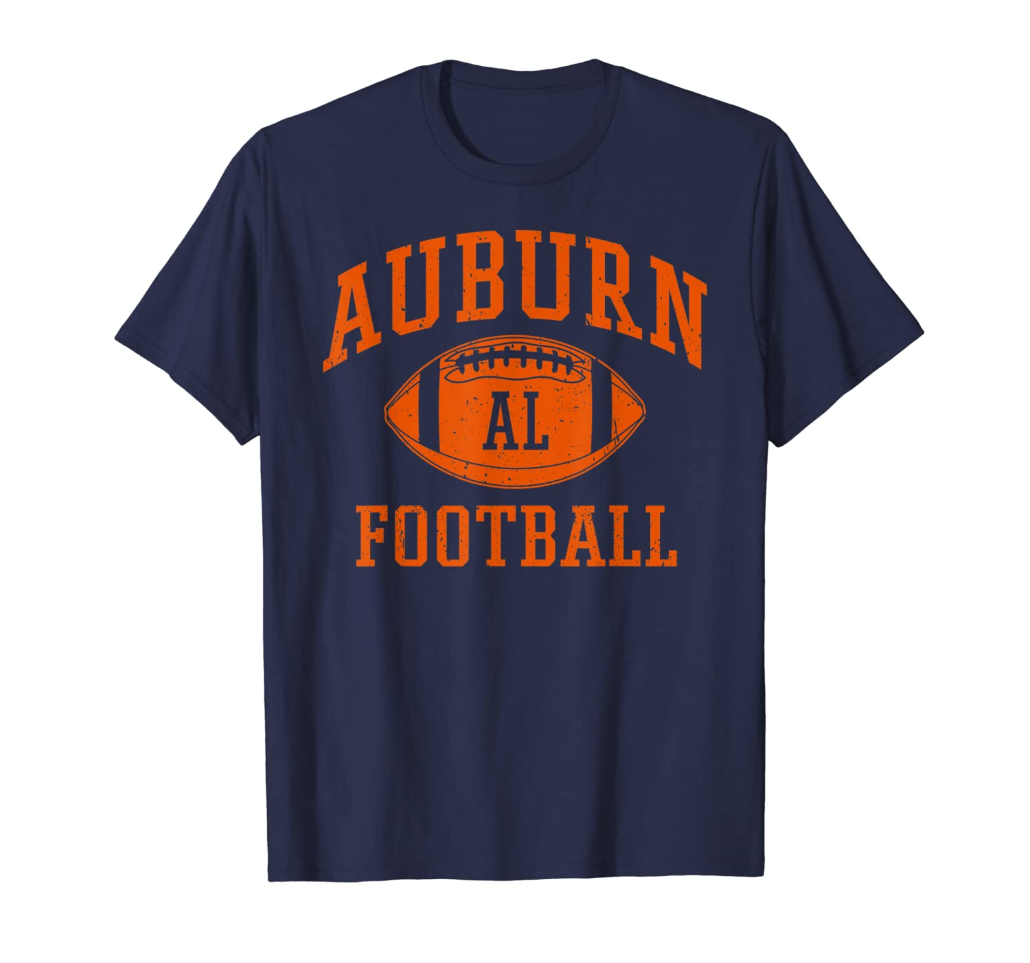 Auburn Football | Vintage Alabama Pride Tiger Retro Gift T-Shirt-TH