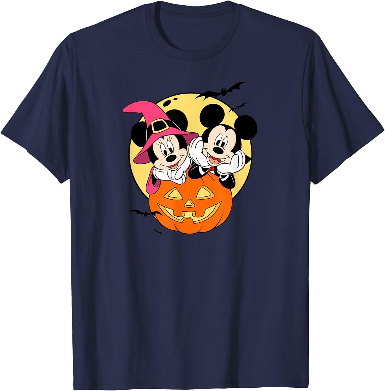 Disney Mickey and Minnie Halloween T-Shirt