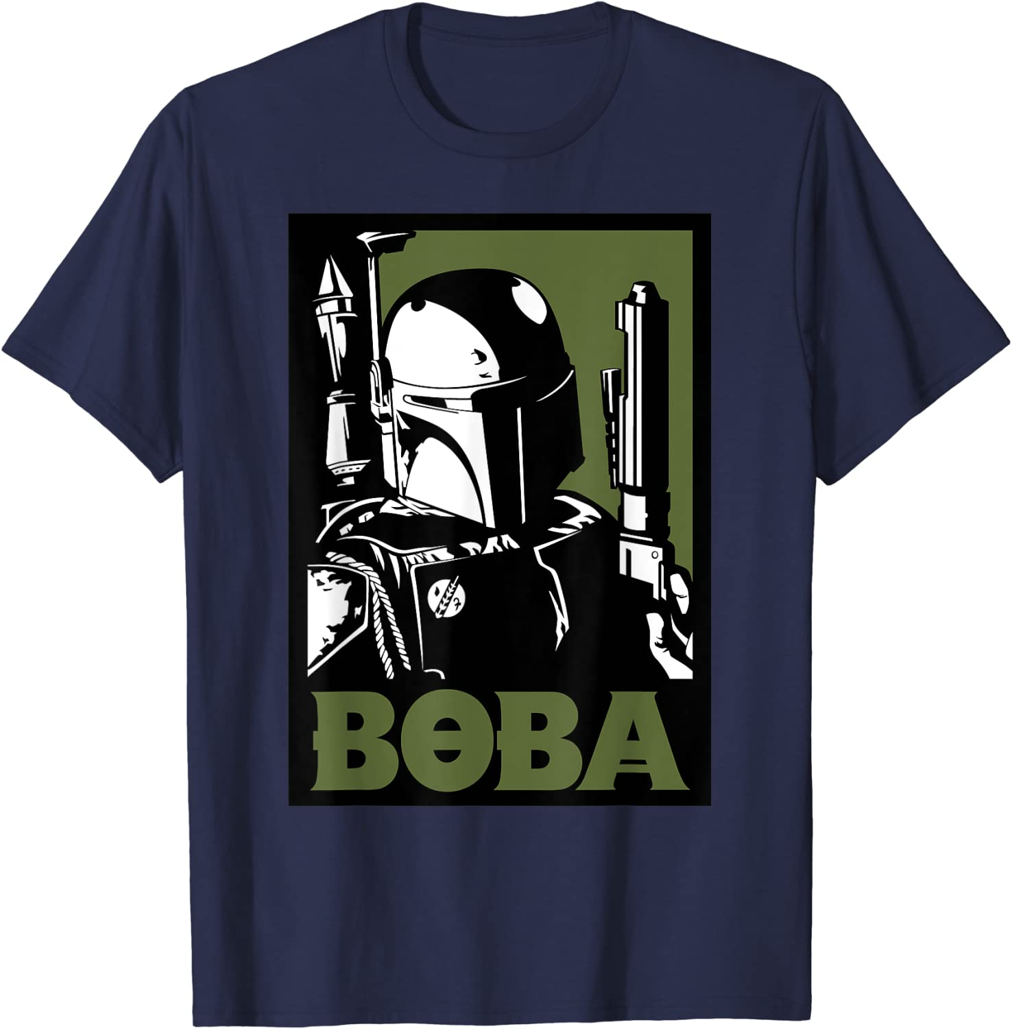 Star Wars Boba Now free shipping Fett Poster T-Shirt Ranking integrated 1st place