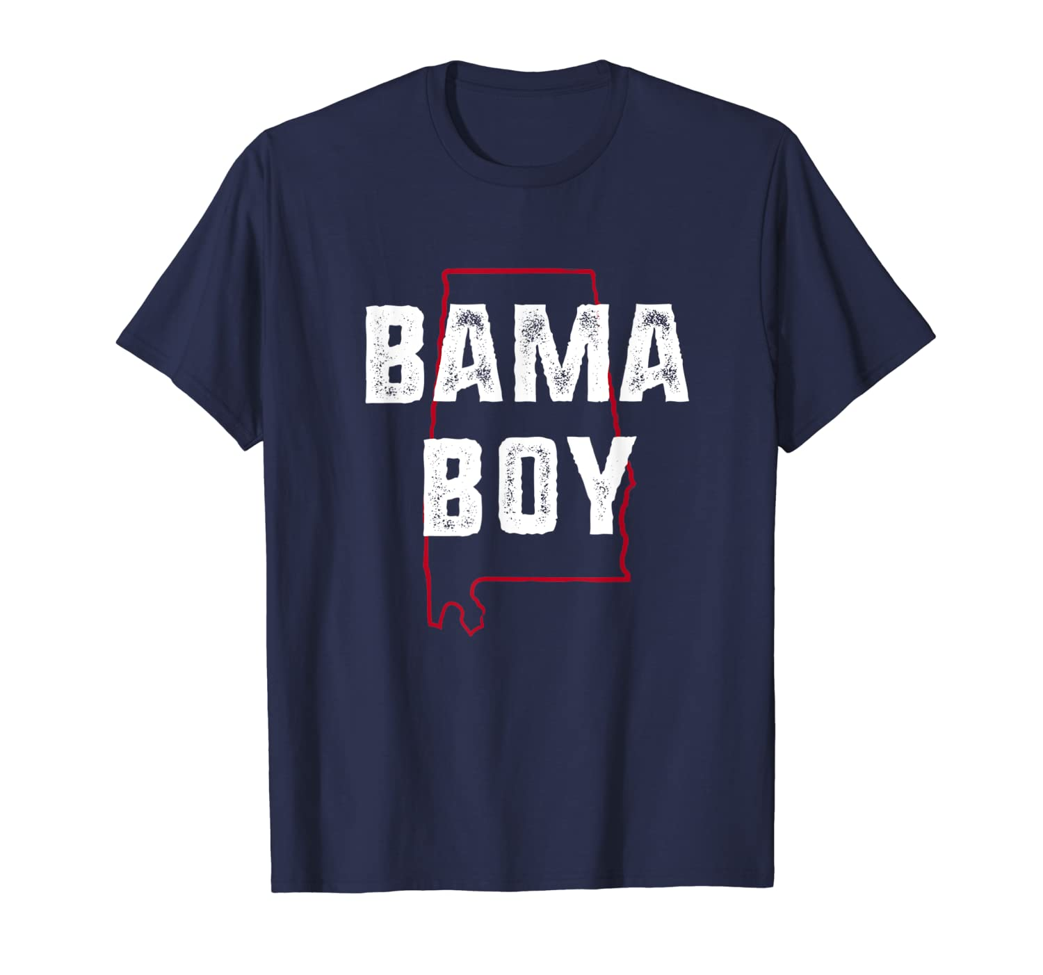 Bama Boy - Alabama native vintage gift T-Shirt-ANZ
