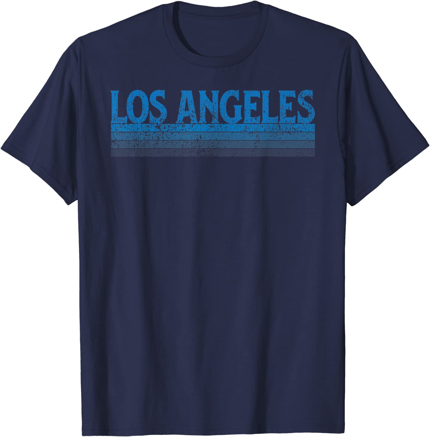 Vintage 1980s Style Los Angeles California T-Shirt