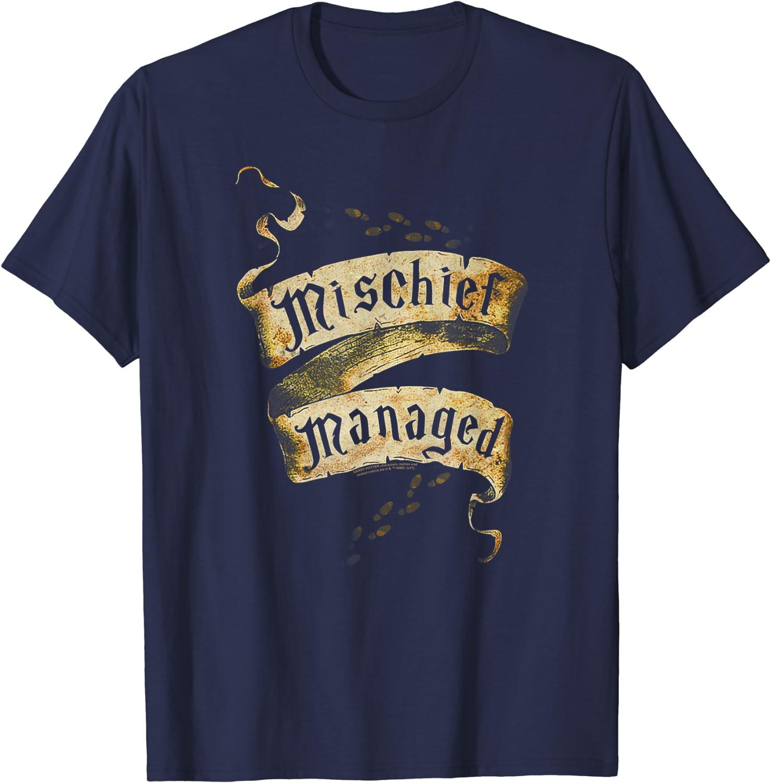 Harry Potter Mischief Managed T-Shirt