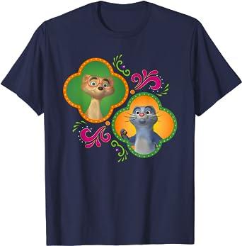 Disney Junior Mira, Royal Detective Mikku and Chikku T-Shirt