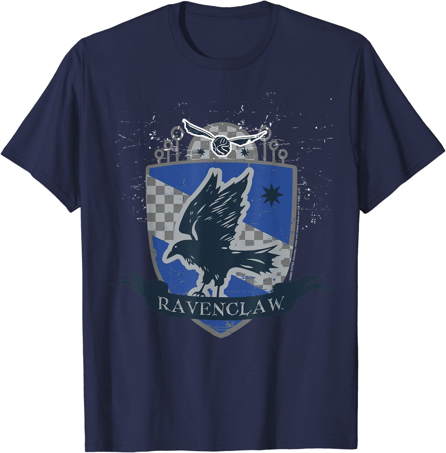 Harry Potter Ravenclaw Quidditch Shield T-Shirt