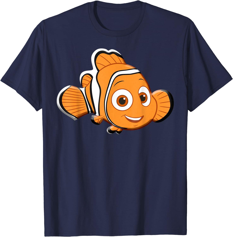 Disney Finding Dory Nemo Character Portrait Graphic T-Shirt T-Shirt