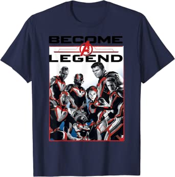 Marvel Avengers Endgame Become A Legend Camiseta