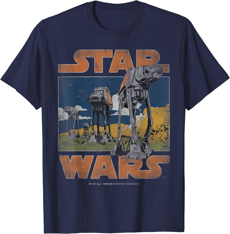 Star Wars AT-AT Walkers Vintage T-Shirt