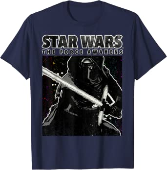 Star Wars Kylo Ren The Force Awakens Poster Camiseta