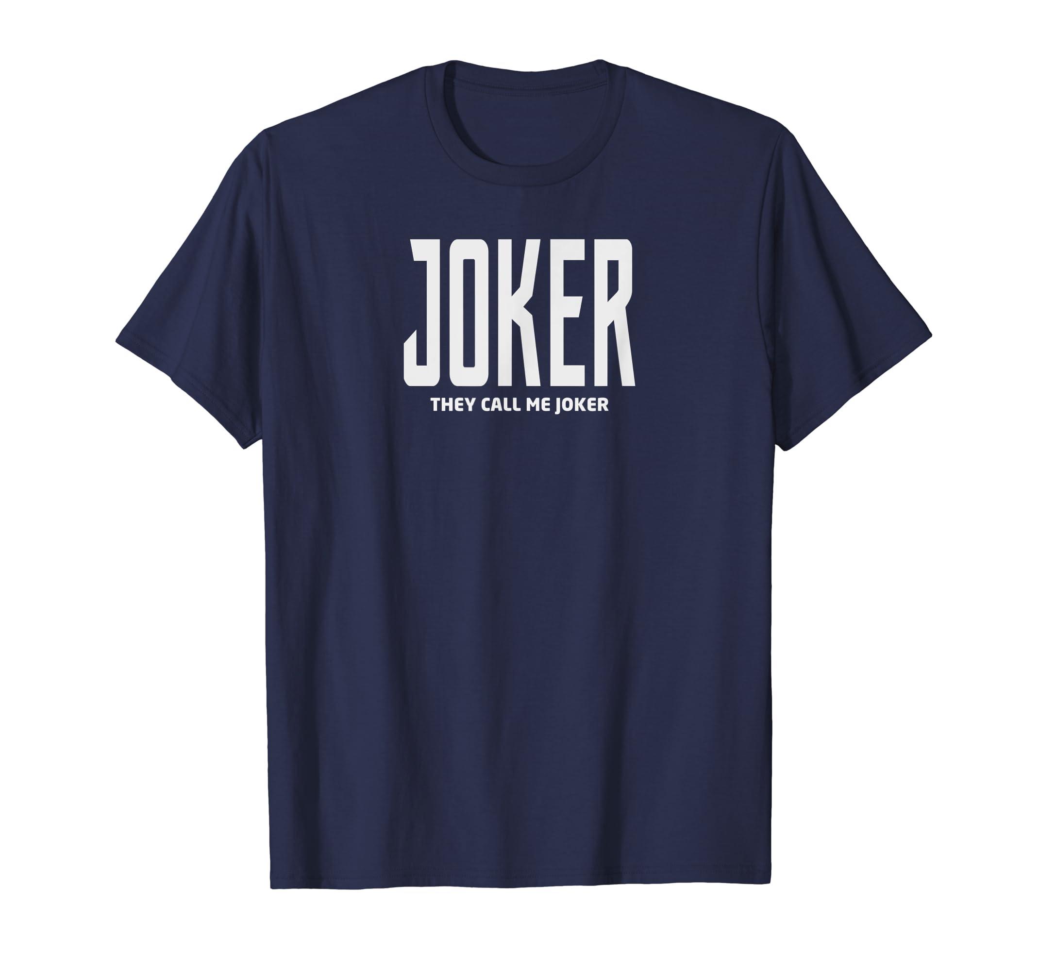 Amazon Com Funny Joker Of Year 2019 Cool Joker 2019 Tshirt