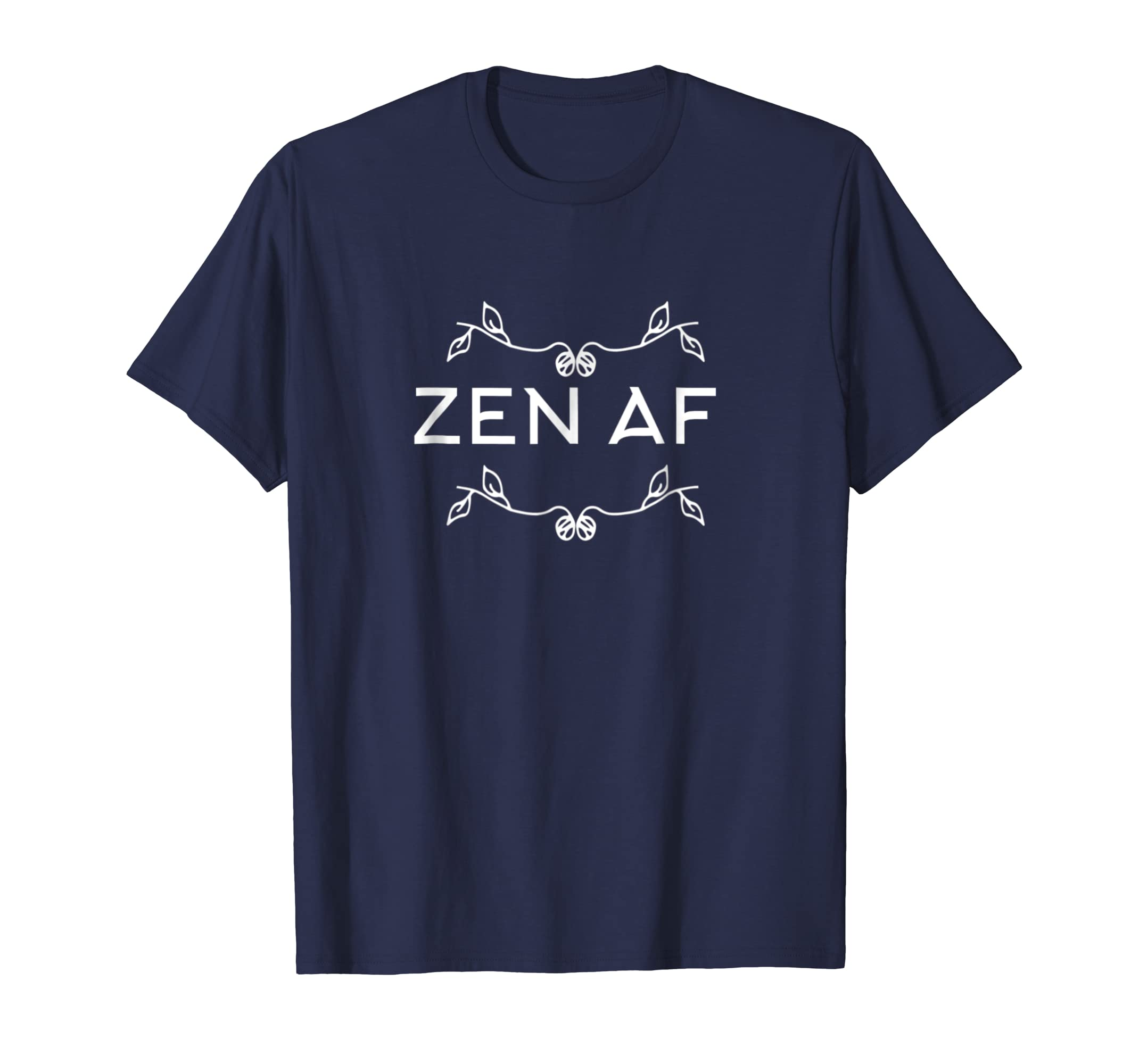 Zen AF T Shirt Funny Yoga Clothes For Women-4LVS