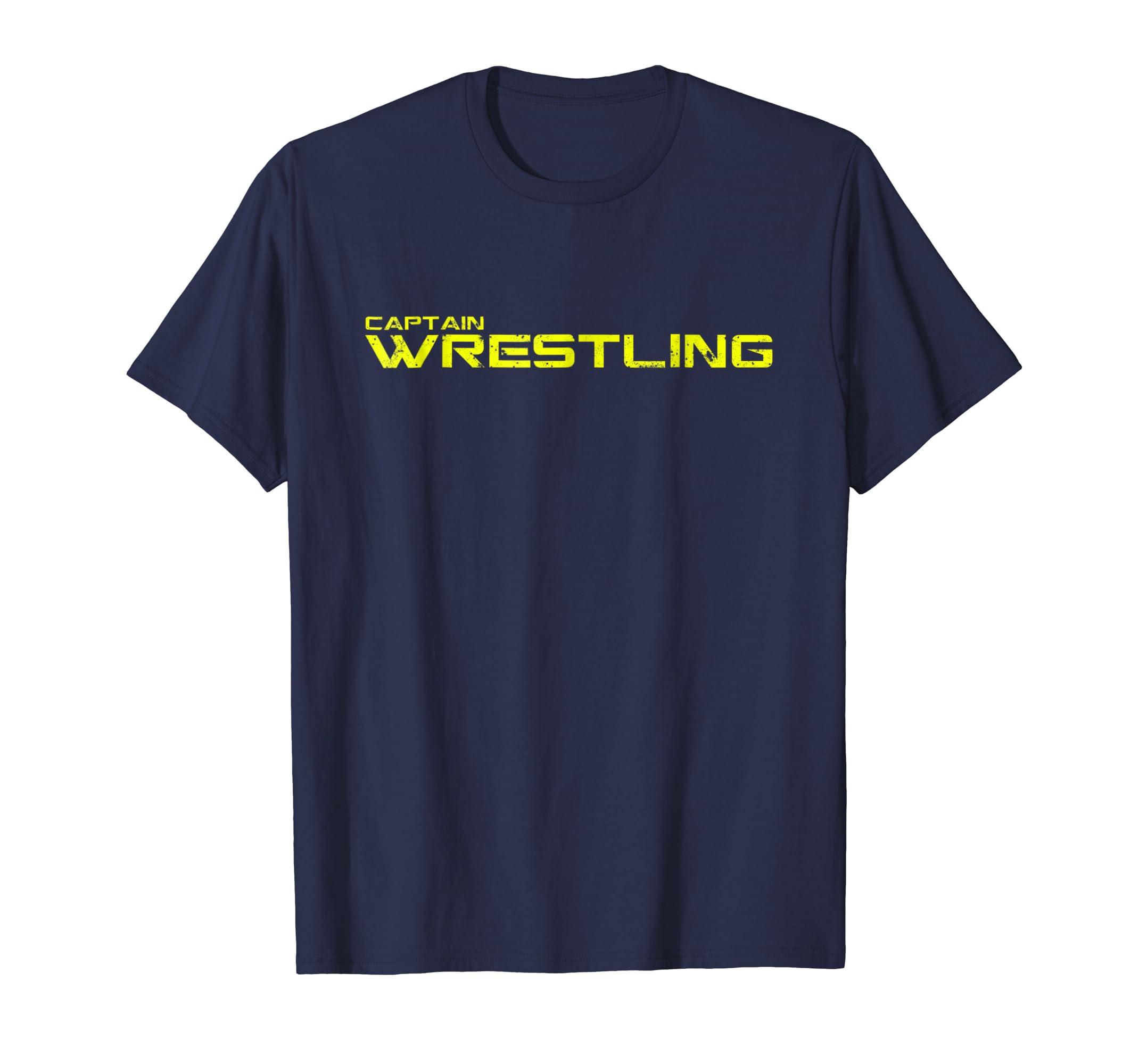 Captain Wrestling shirt   T shirt gift-ln