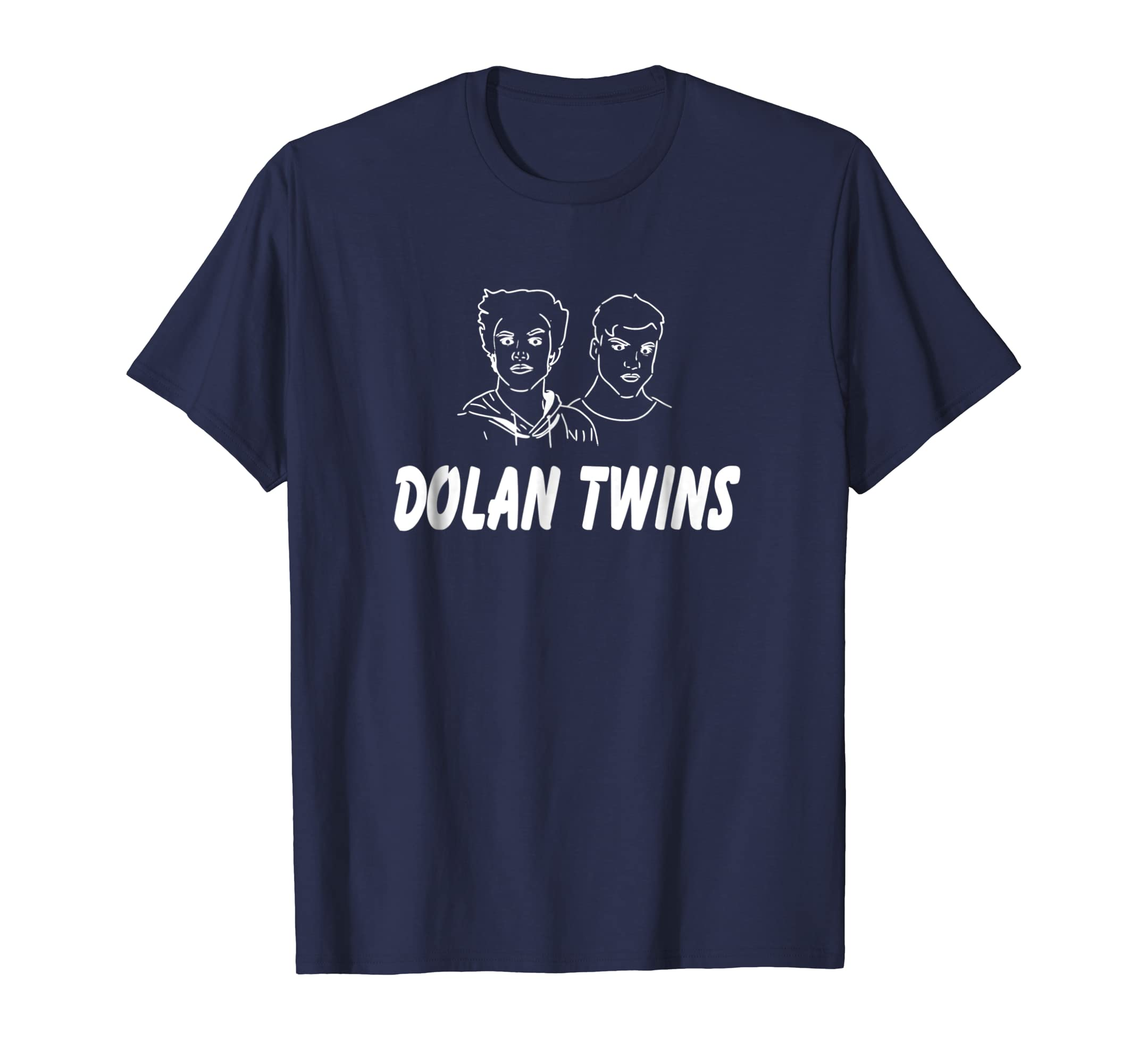 001d16e25 Dolan Twins Esquema blanco Funny Gift T Shirt-Teechatpro – Teechatpro.com
