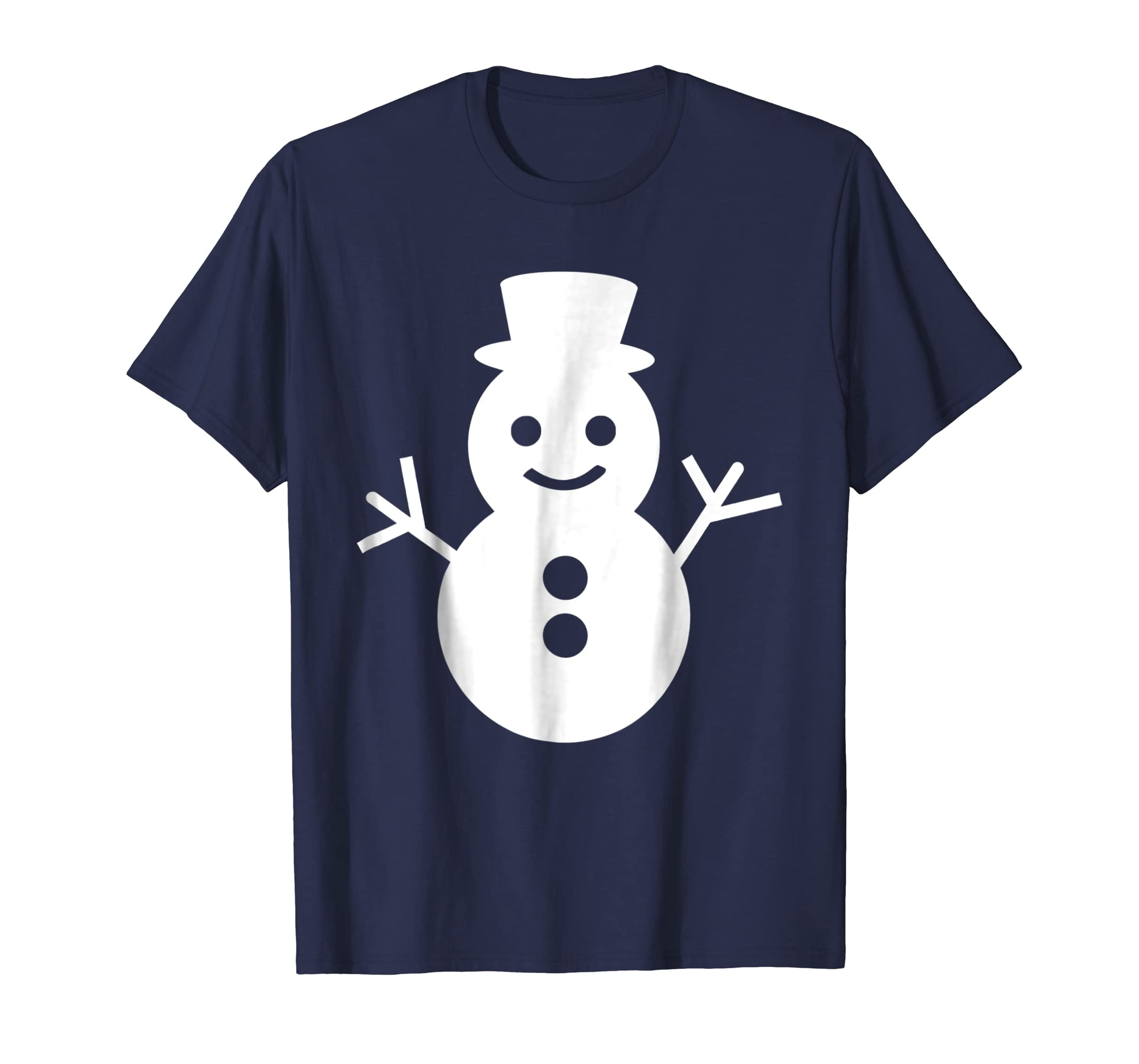 A Snowman To Bring You Joy Graphic Icon T Shirt-azvn