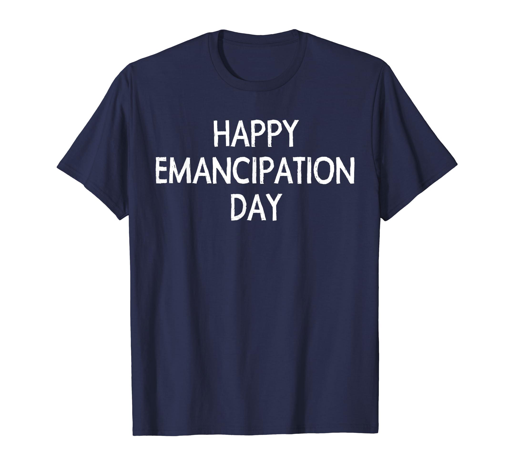 Happy Emancipation Day Freedom Day Independence Emancipation-SFL