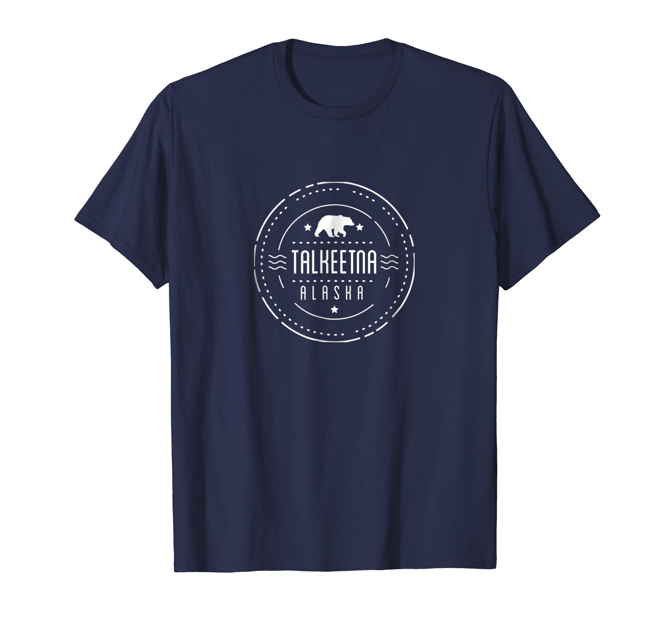 Talkeetna Alaska Shirt with Bear Tshirt-AZP